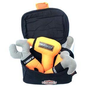 Harley Davidson baby's first tool kit soft toy set